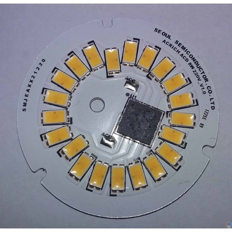 چراغ SMD 8w 220v